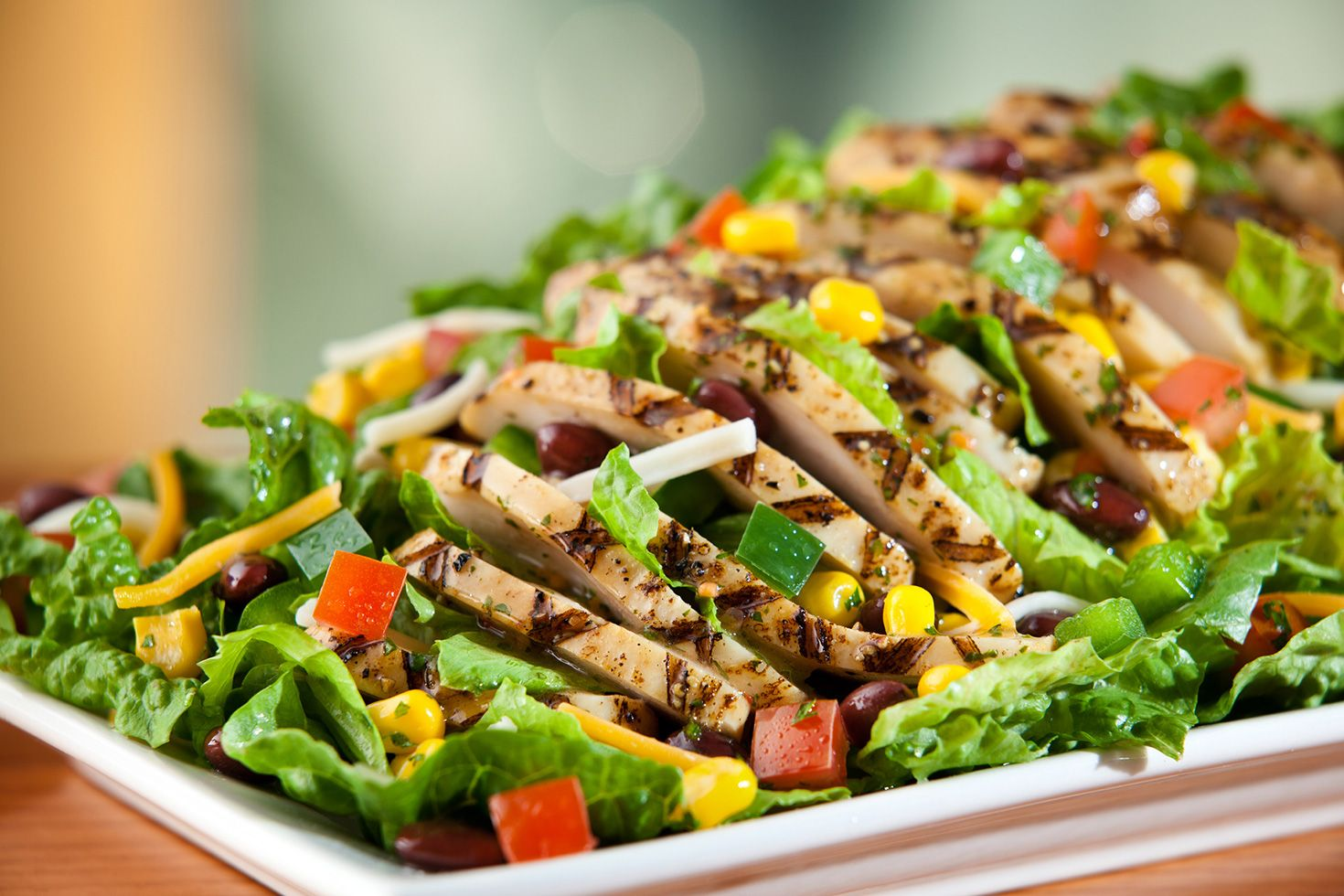 chili's guiltless grill grilled chicken salad