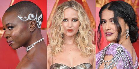 Best Oscars 2018 beauty looks