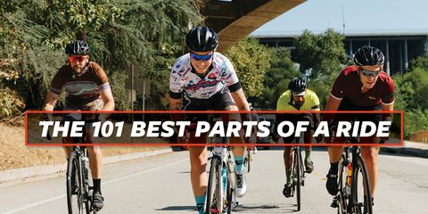 The Best Parts of a Ride