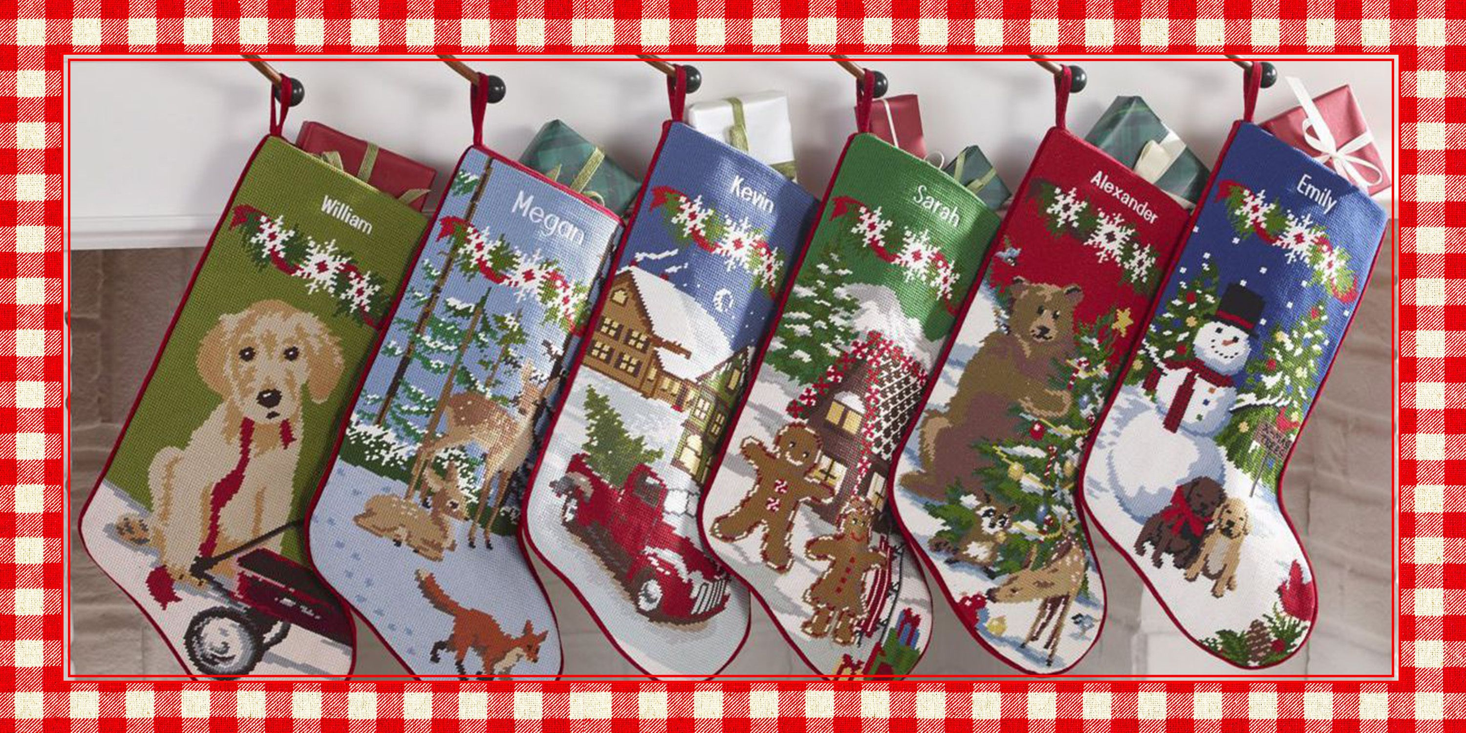 40 Best Personalized Christmas Stockings - Unique Christmas Stocking Ideas