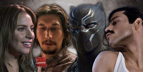 Best Picture Predictions, Black Panther, A Star is Born, BlacKkKlansman, Bohemian Rhapsody