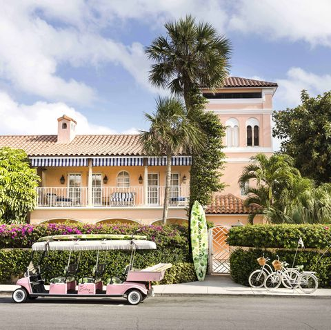 best pink hotels colony palm beach veranda