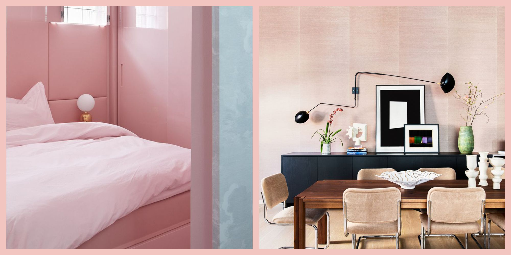 25 Designer Chosen Pink Paint Colors Best Ideas