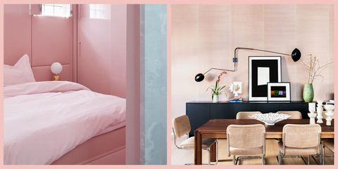 25+ Designer-Chosen Pink Paint Colors - Best Pink Paint Ideas