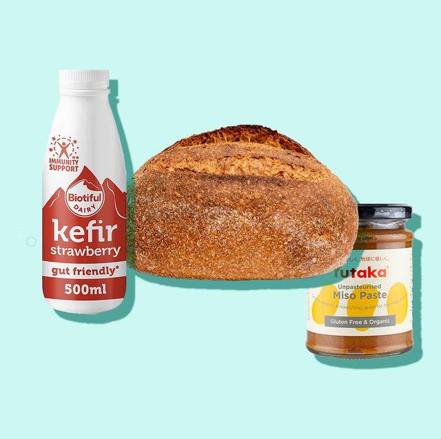 best probiotic foods   kefir, sourdough, miso