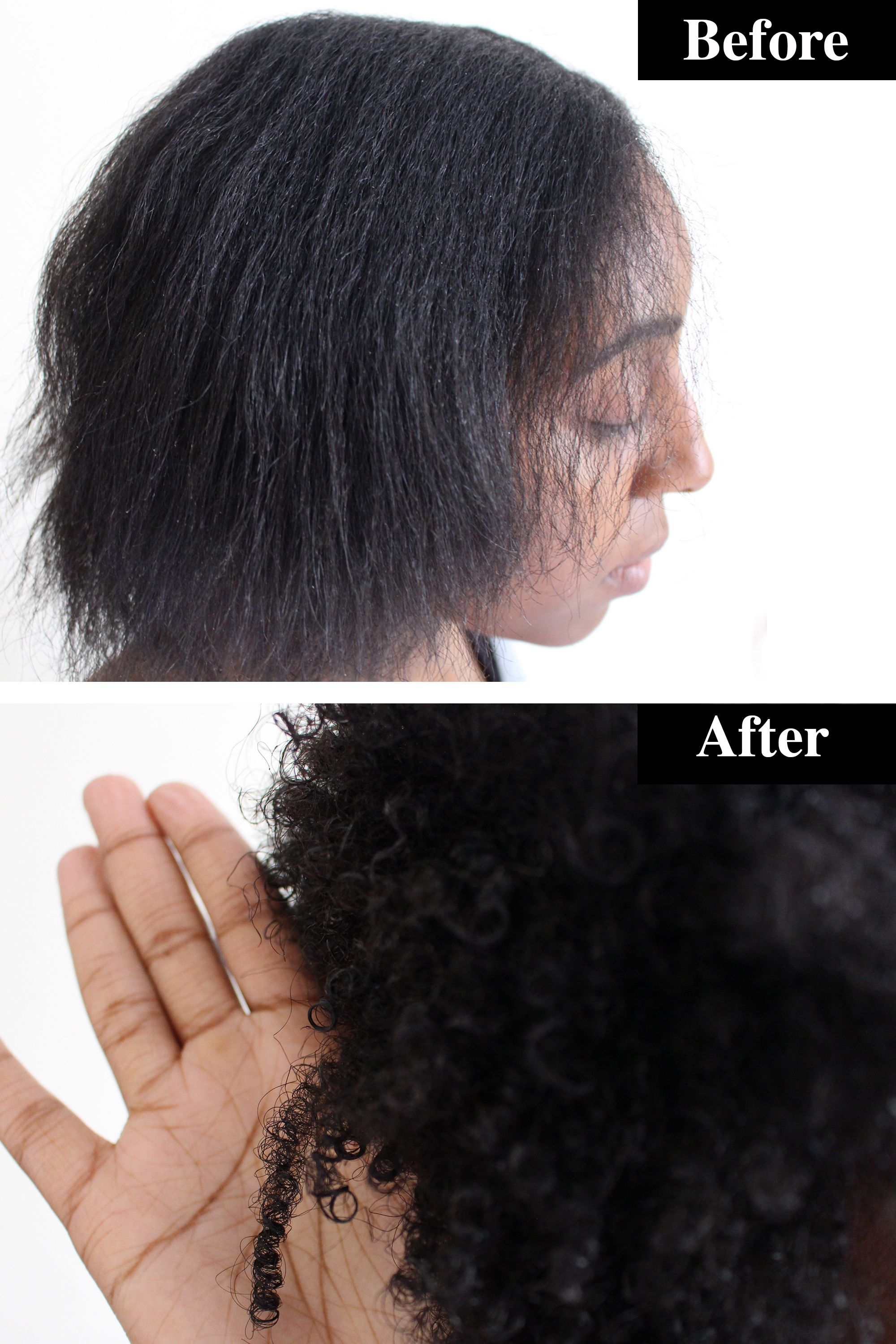 Best Products For Curly Hair 2018 6 Before After Pictures
