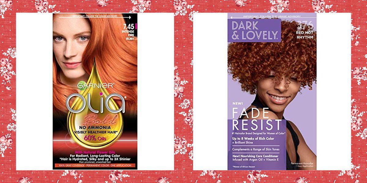 15 Best Red Hair Dye In 2021 Affordable Red Box Hair Dye Brands