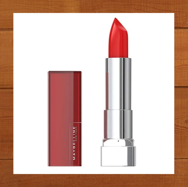 maybelline color sensational lipstick in red revival and sephora collection liquid lip stain in 01 always red