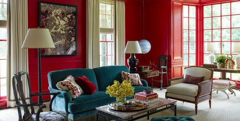 Best Red Paint Colors - Gorgeous Rooms with Red Paint