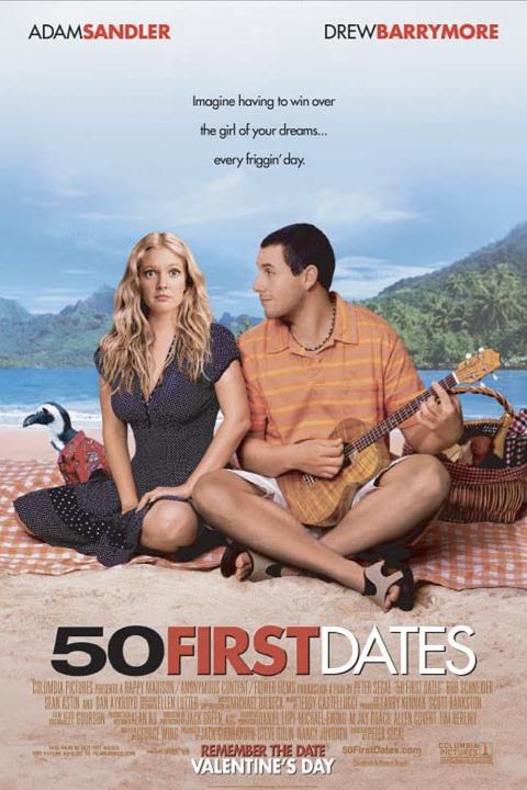 best rom coms netflix 50 first dates