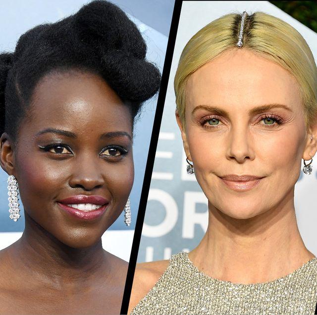 SAG Awards 2020 hair and make-up