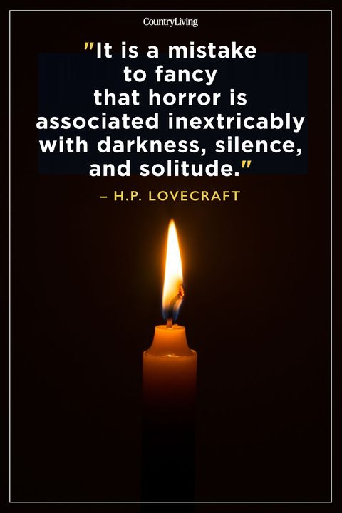 Best Scary Quotes HP Lovecraft