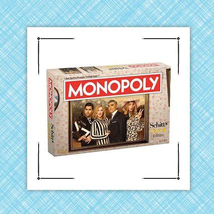 schitts creek monopoly and rosebud motel mug