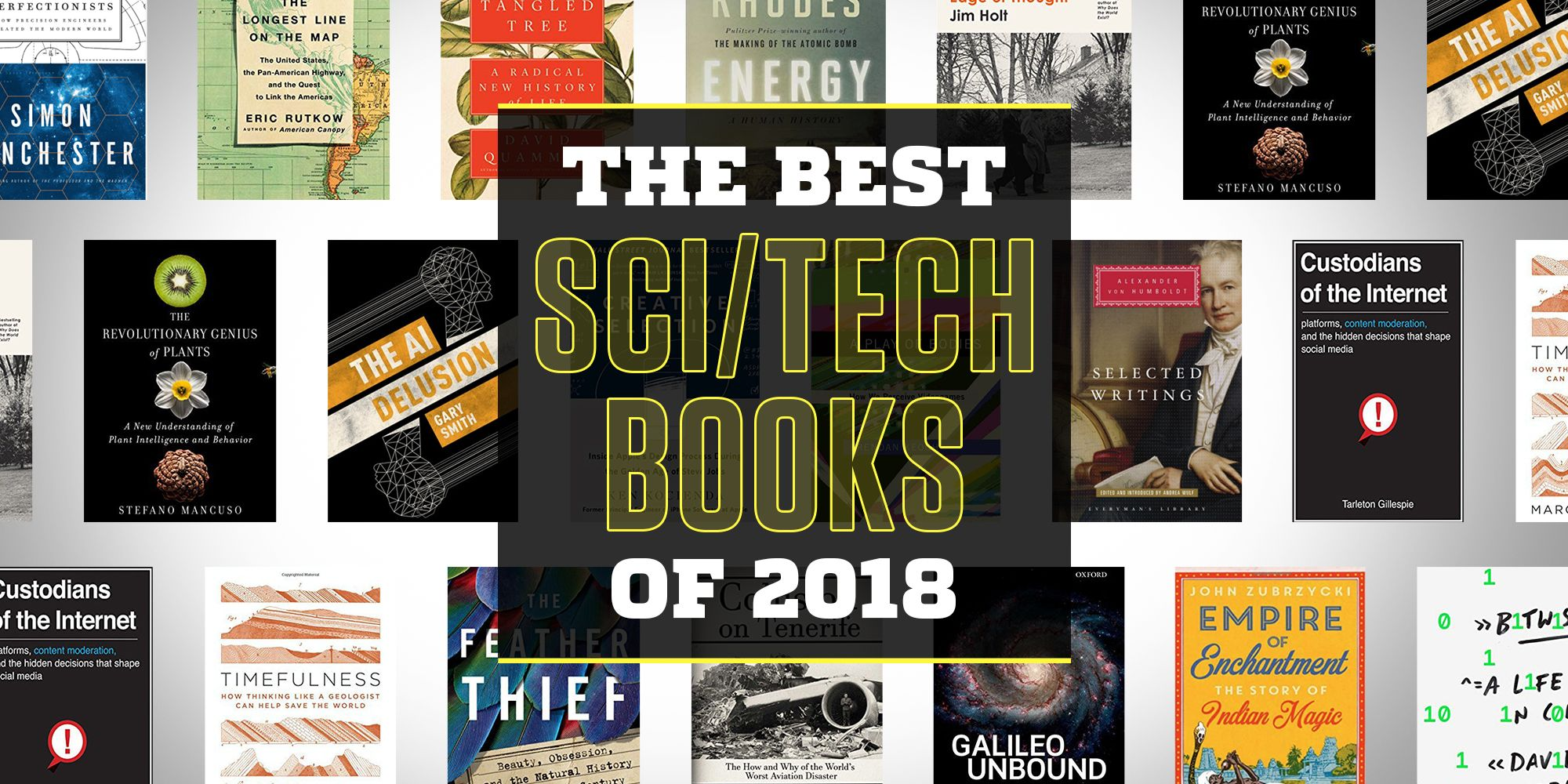 The Best Sci Tech Books 2018