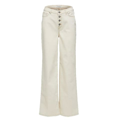 Selected beige jeans