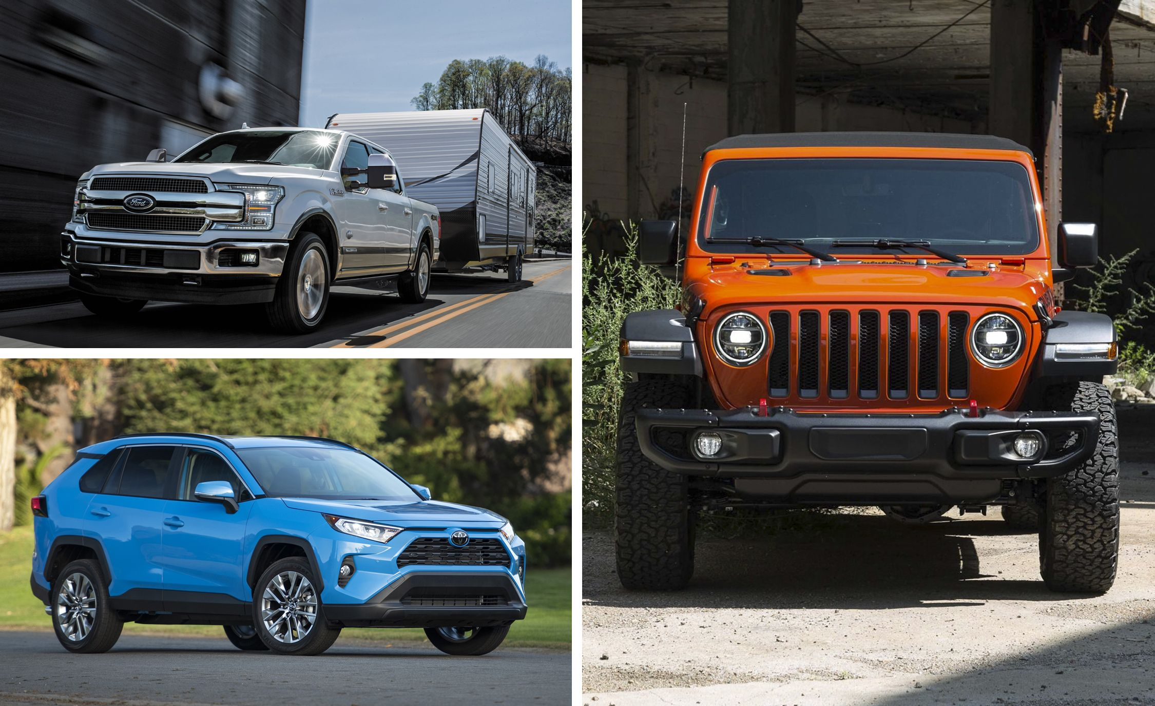 25 Best-Selling Cars, SUVs, and Trucks in America in 2018