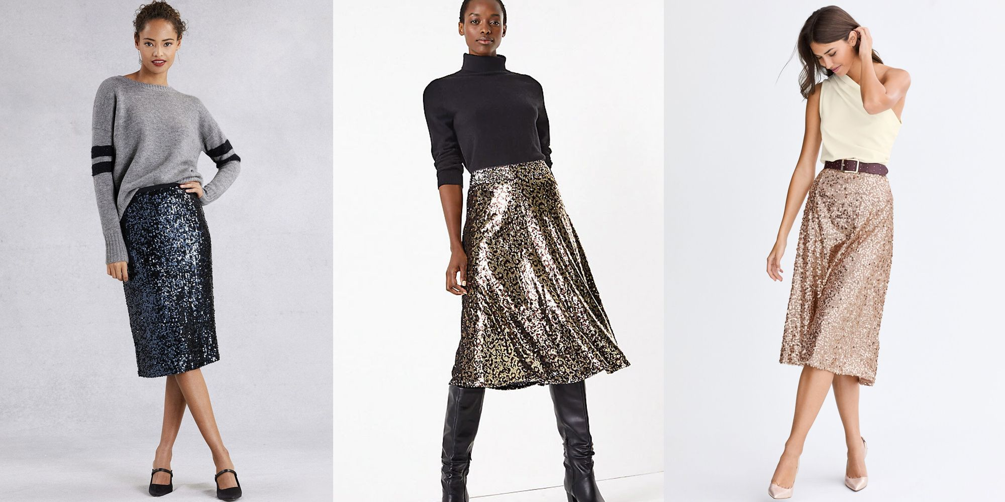 The best sequin skirts for autumn/winter 2019