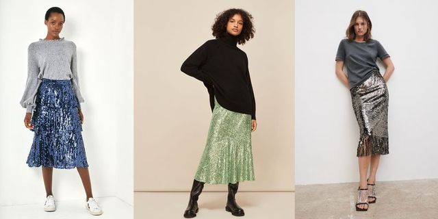 best sequin skirts