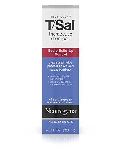 best shampoo for oily hair Neutrogena T/Sal Therapeutic Shampoo