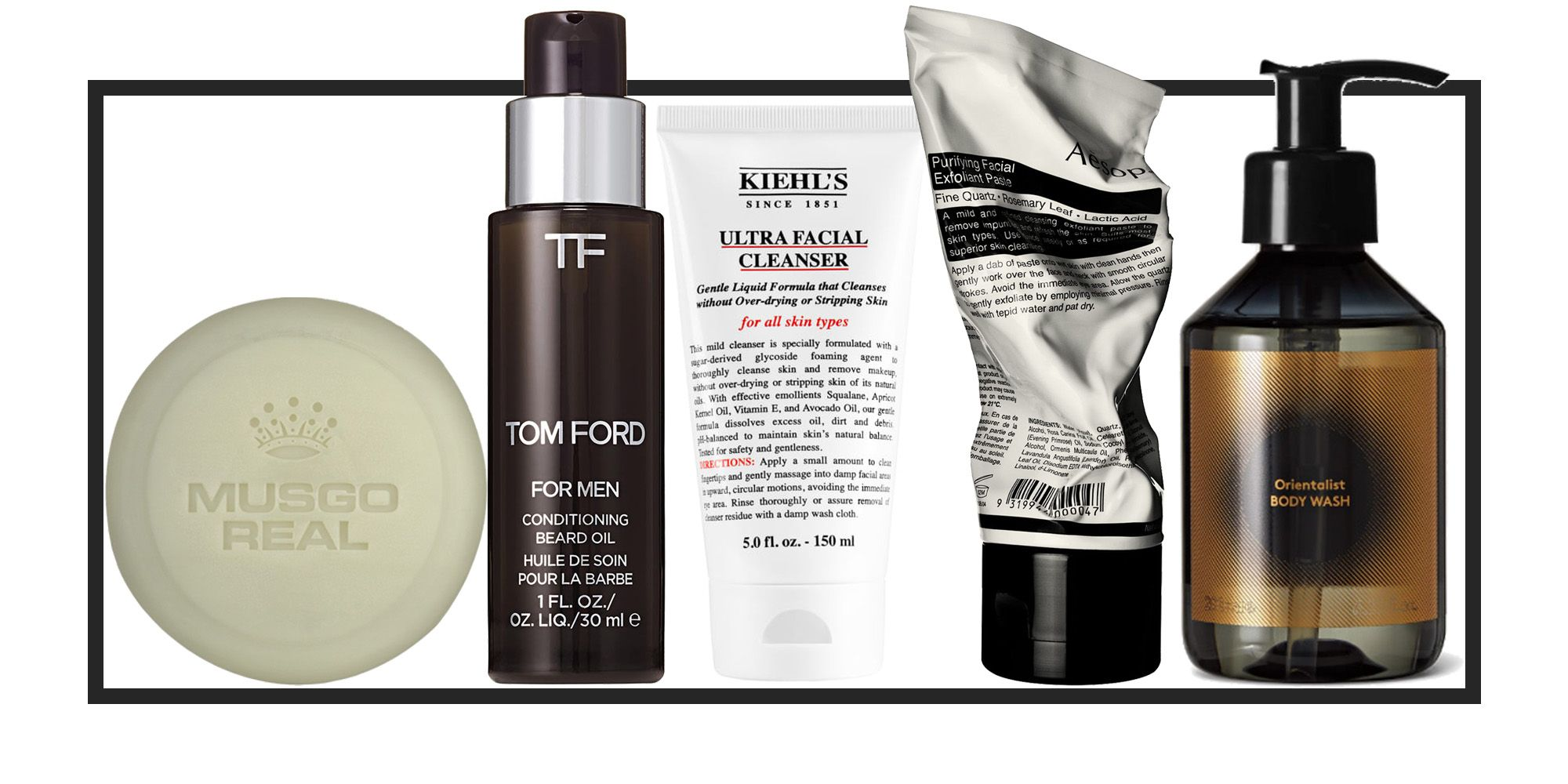 The Best Skincare For Men Best Male Grooming Products