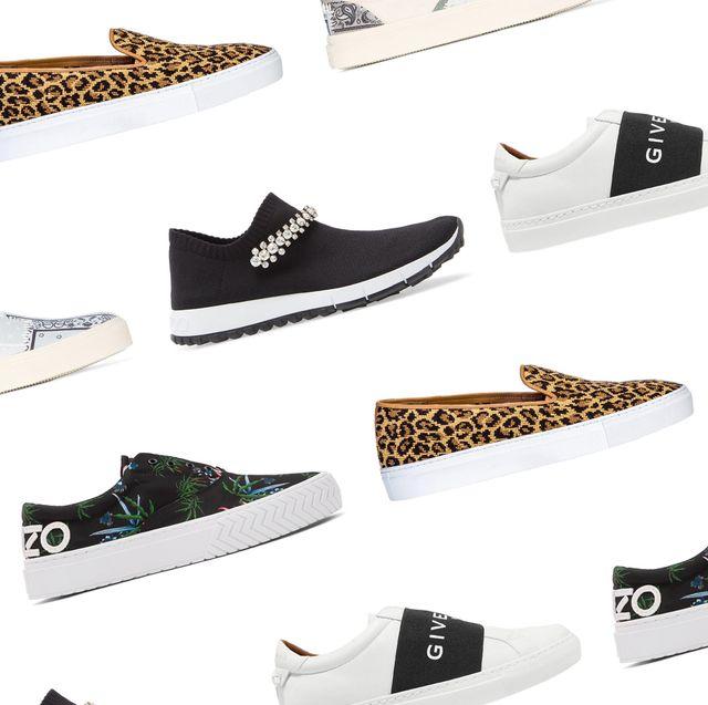slip on sneakers for women luxury brands