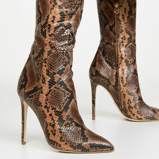 best snakeskin boots and ankle booties