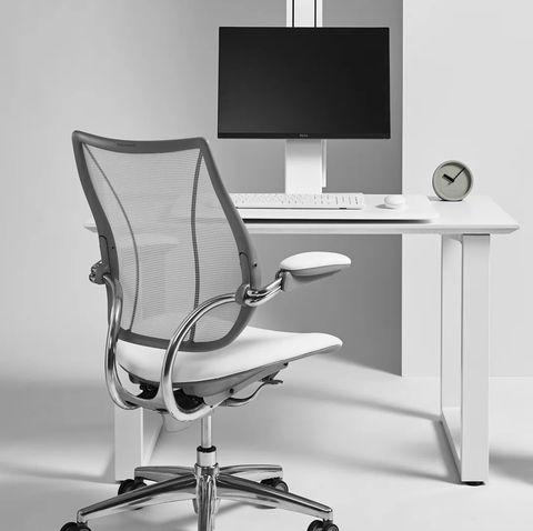 humanscale quickstand eco single monitor standing desk converter