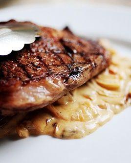 best steak sauce recipes onion blue cheese