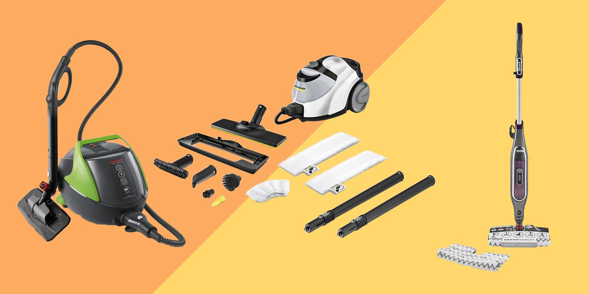 10 best steam cleaners for your home