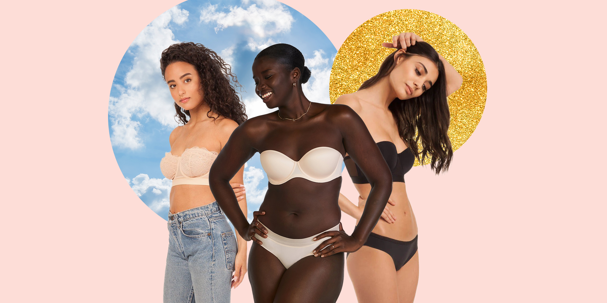 12 of the Best Strapless Bras That Truly Stay UP