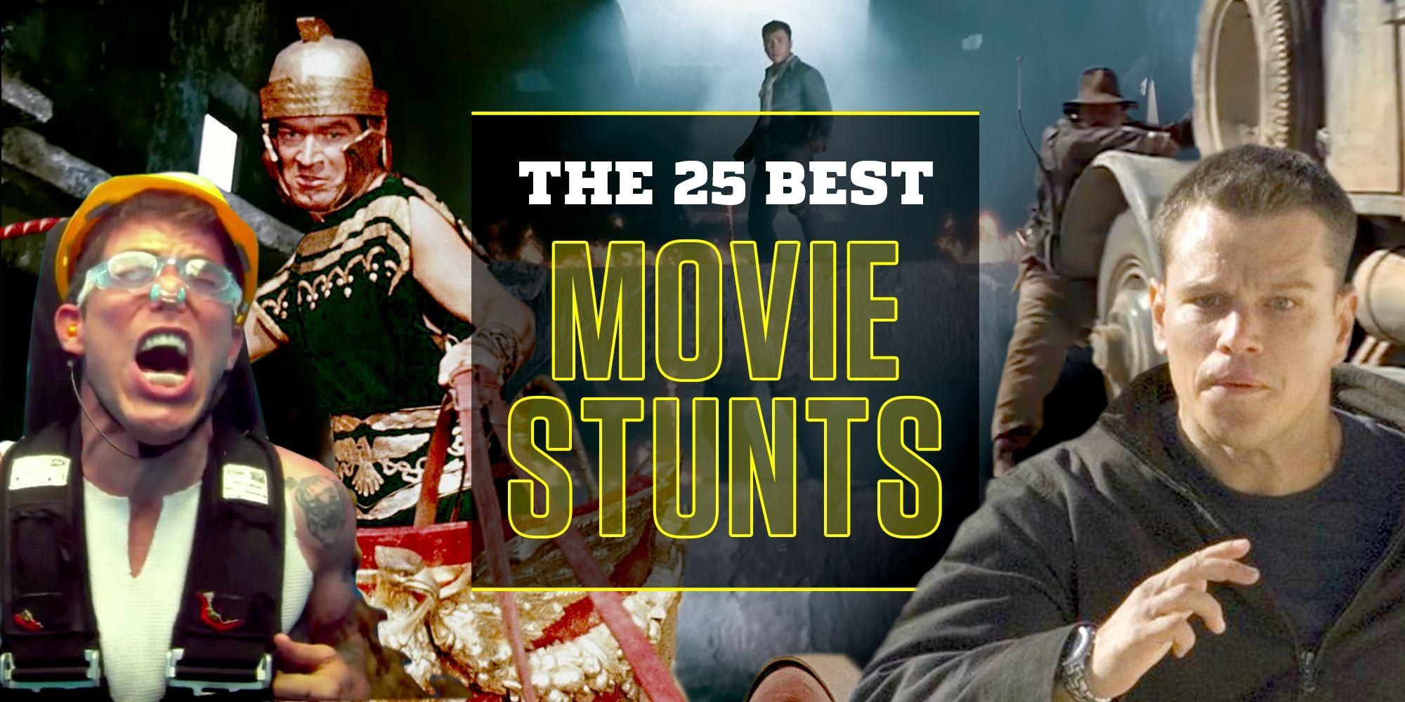 25 Best Movie Stunts of All Time - Best Movie Scenes