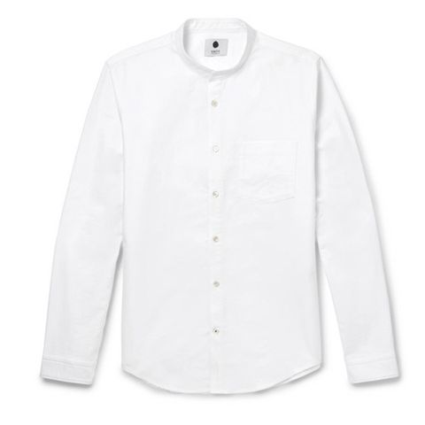 best summer shirts for men nn07 grandad collared shirt