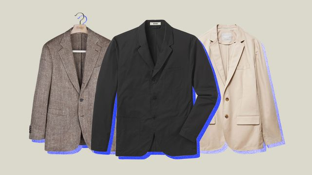 three different blazers