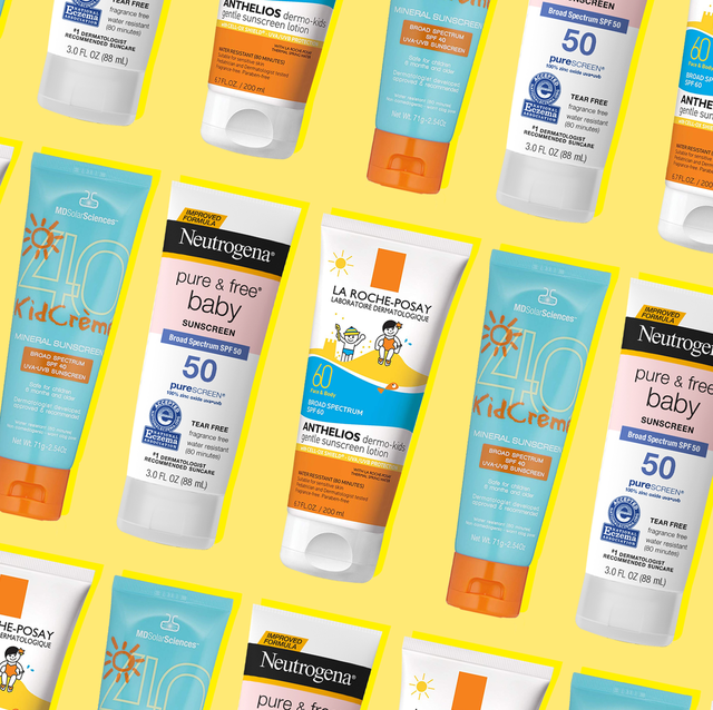 best sunscreen for kids and babies - safe SPF for children