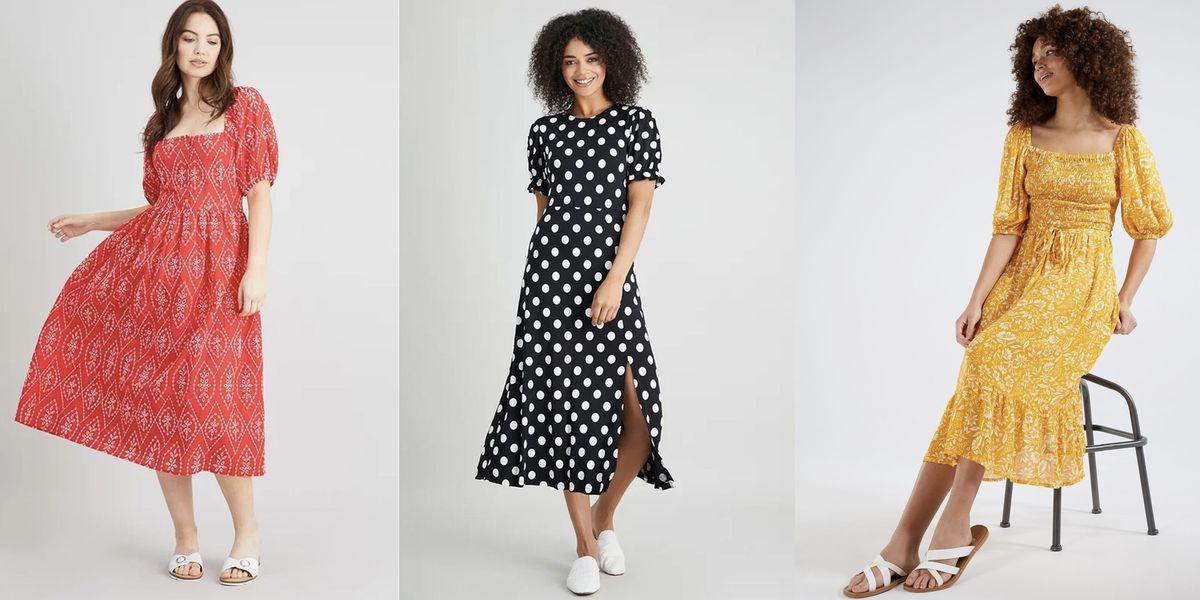 Stylish supermarket summer dresses we're loving right now
