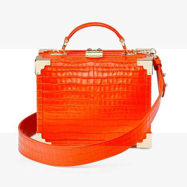 Bag, Handbag, Orange, Fashion accessory, Red, Product, Footwear, Fashion, Coquelicot, Leather,