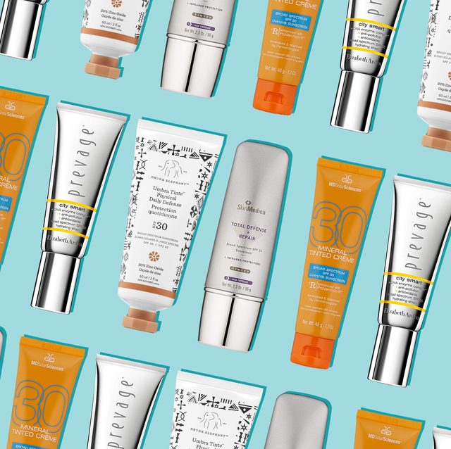 best tinted sunscreen - tinted face SPF