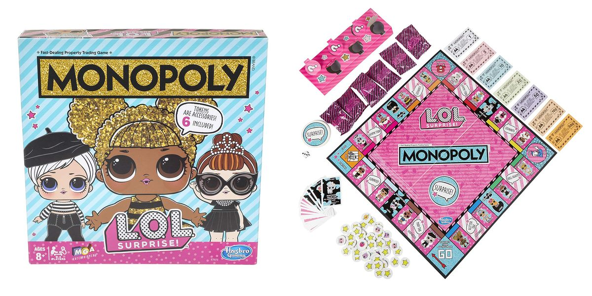 This Limited Edition Monopoly Game Is Made for Kids Who Love L.O.L. Surprise!
