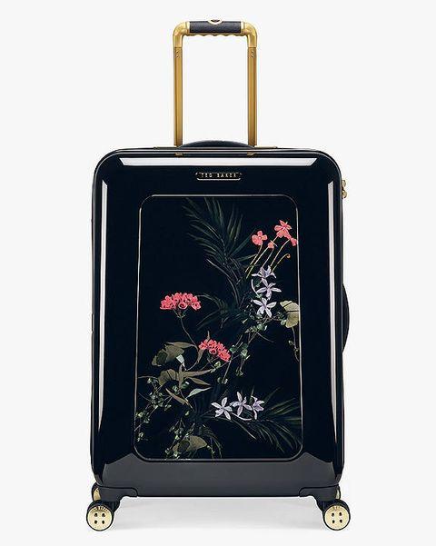 best travel bags ted baker ted baker heerlo highland 69cm 4 wheel medium suitcase