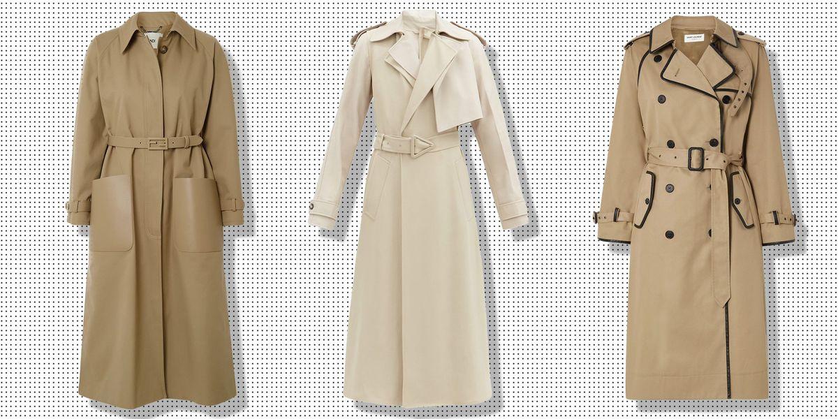 27 Classic Trench Coats For Women, Ladies Black Wool Trench Coat Uk