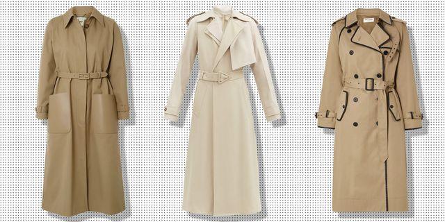 29 Classic Trench Coats For Women, Women S Khaki Trench Coat Uk