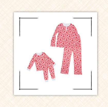 best matching valentine's pajamas