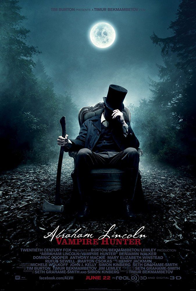 best vampire movies abraham lincoln:vampire hunter