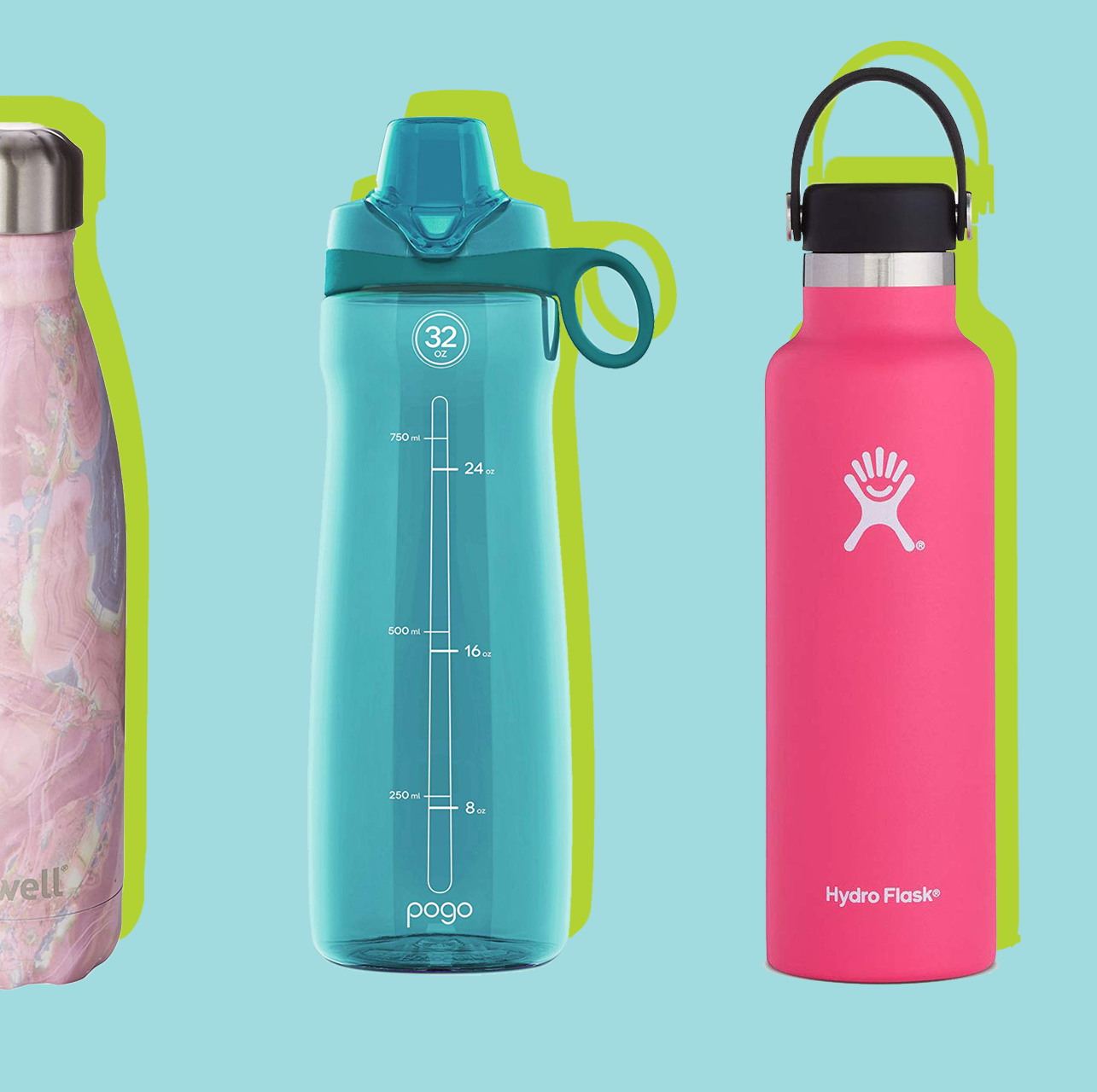 20 Best Water Bottles for All of Your Hydration Needs