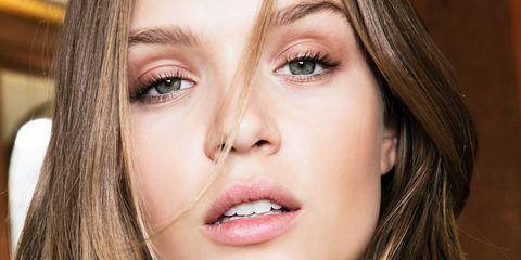 Face, Hair, Lip, Eyebrow, Skin, Nose, Cheek, Close-up, Facial expression, Chin,