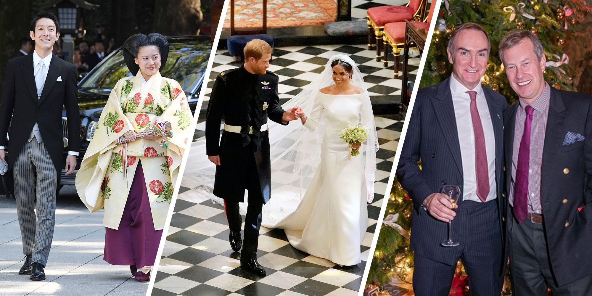 This was a banner year for weddings, boasting not one, but two royal affairs. But Meghan Markle and Princess Eugenie weren't the only buzz-generating brides of the year, nor were their respective nuptials the only buzzy affairs—there were a many top notch secret ceremonies too, for example Tory Burch and Pierre-Yves Roussel and Barbara Pierce Bush and Craig Coyne.