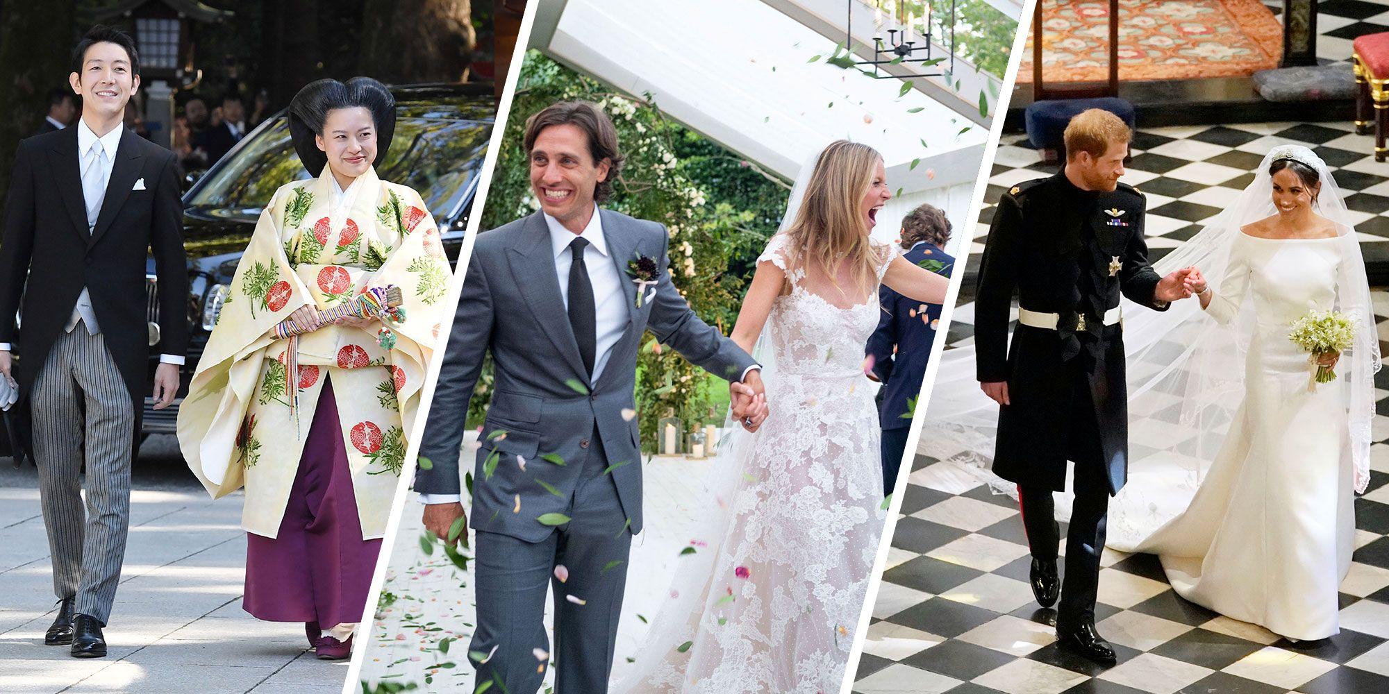 451d594f3176 The Biggest Weddings of 2018 - Best Weddings of 2018