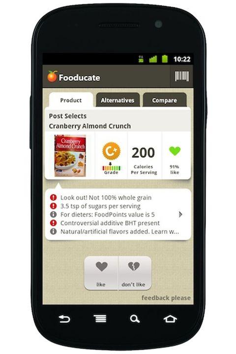 Application Fooducate