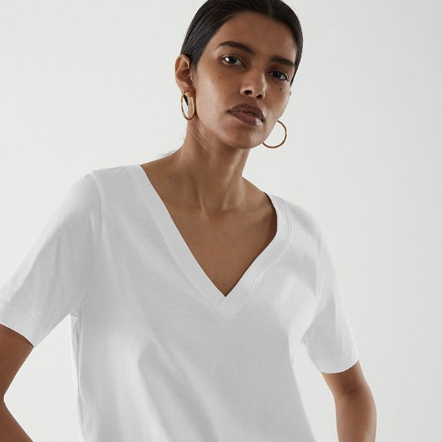white t shirt women