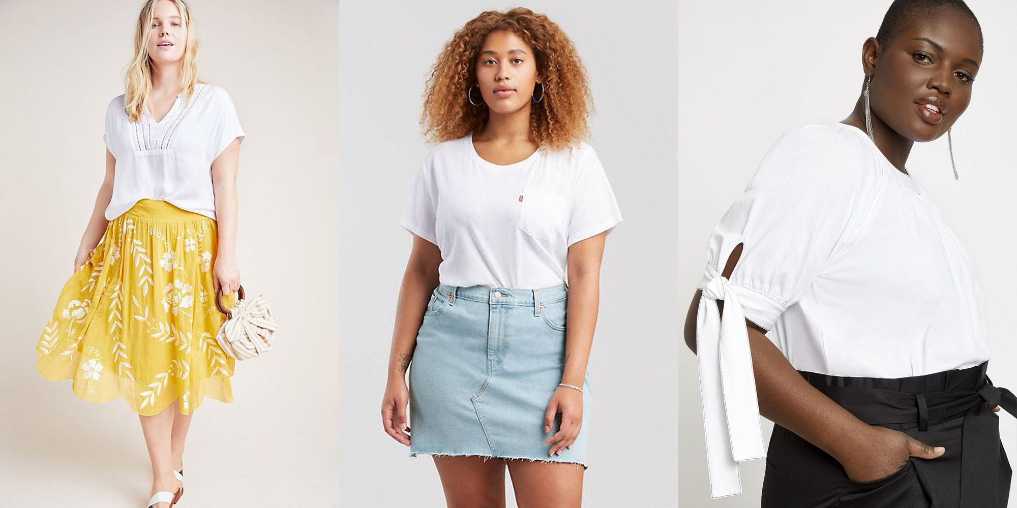 781b6319db The 17 Best White T-Shirts for Women - Cute White Tees for Summer